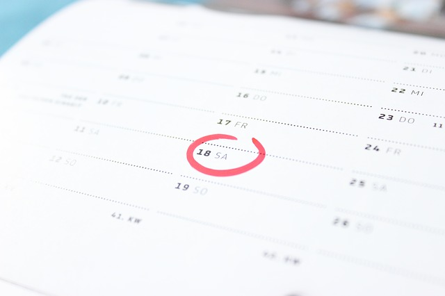A calendar can be of great use when you want to prepare for an interstate move.