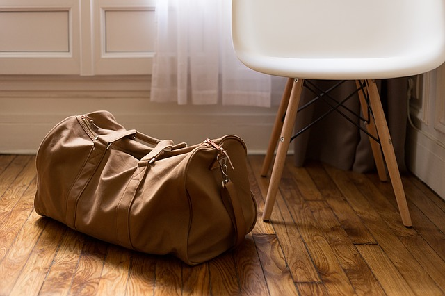 A bag prepared for long distance moving