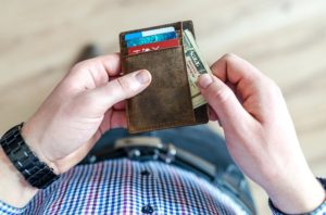 Wallet - Save money by paying the movers after the job is done.