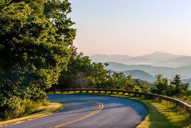 a road in North Carolina