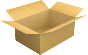 You can put your belongings inside the box