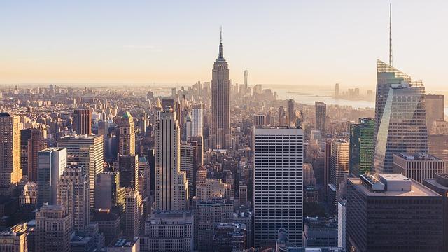 The NYC skyline, representing Manhattan's coolest neighborhoods