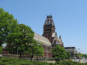 Harvard college building in one of the best cities in Massachusetts.