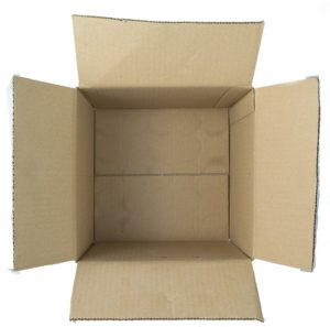 An empty box.