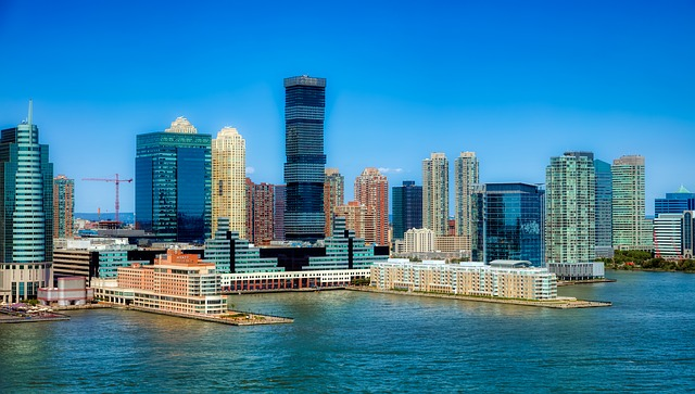 A view of Jersey City that could make you move to Jersey City in no time.