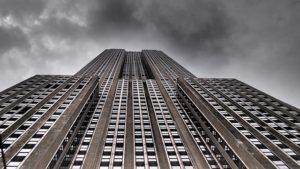 A big building.