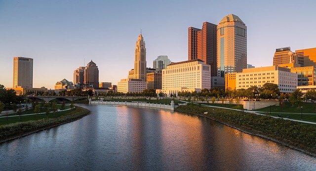 A Columbus cityscape.