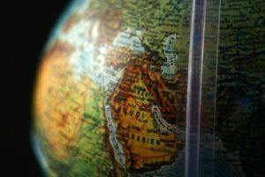 Globe, Middle East, Saudi Arabia