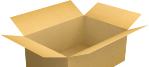 A cardboard box is a primary thing you should put on your packing supplies checklist.