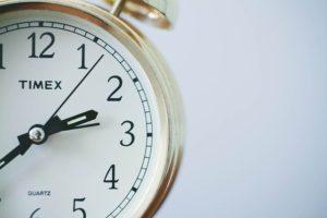 A clock, symbolizing delays.
