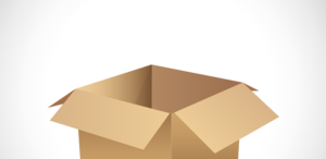 A cardboard box can be useful to pack toys for NYC storage properly.