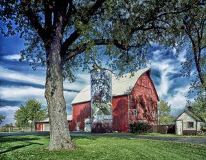 A barn in Illinois.