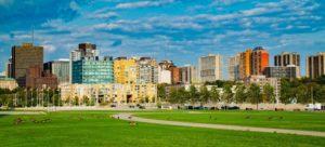 Ottawa cityscape.