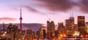 Toronto city view.