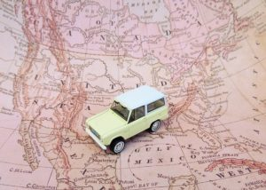 Map, car - Make sure you are ready for relocation by knowing how to calculate cross country relocation costs.