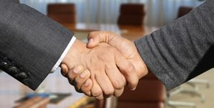 Shaking hands when you need to negotiate with movers/