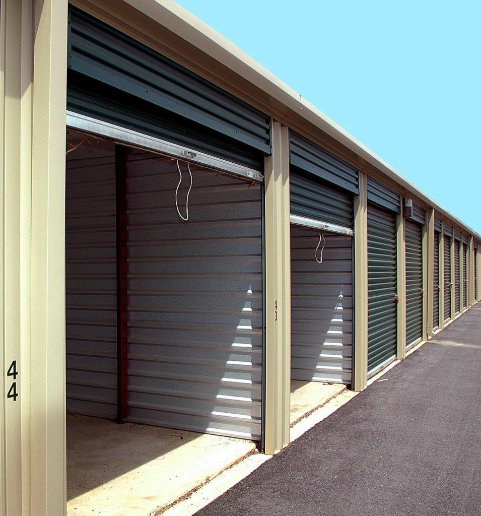 Storage warehouses.