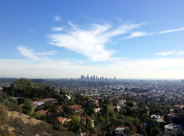A view of Los Angeles.