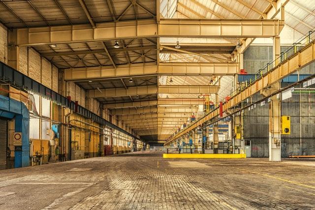 Large storage facility.