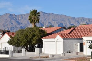 A neighborhood in North Las Vegas, one of the most affordable kid-friendly towns in Nevada.