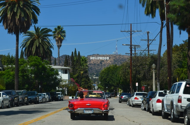Hollywood is one od the places in California you'll fall in love with.