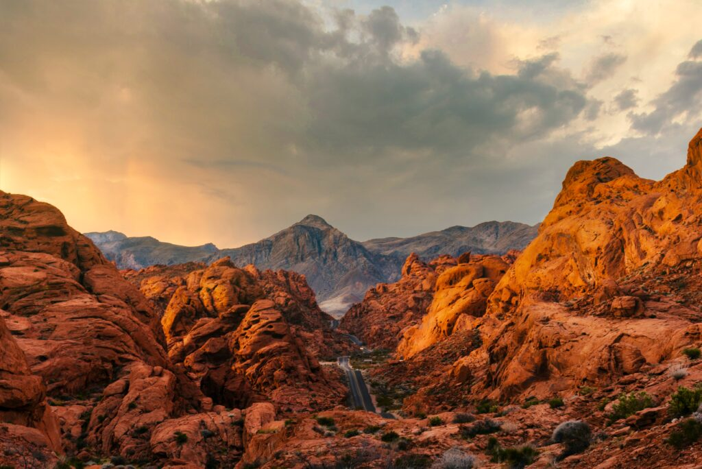 Redrock Canyon, Nevada, USA