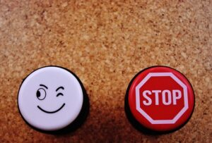 Pros and cons buttons