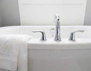 Clean tub.