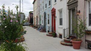 Homes in Philadelphia.